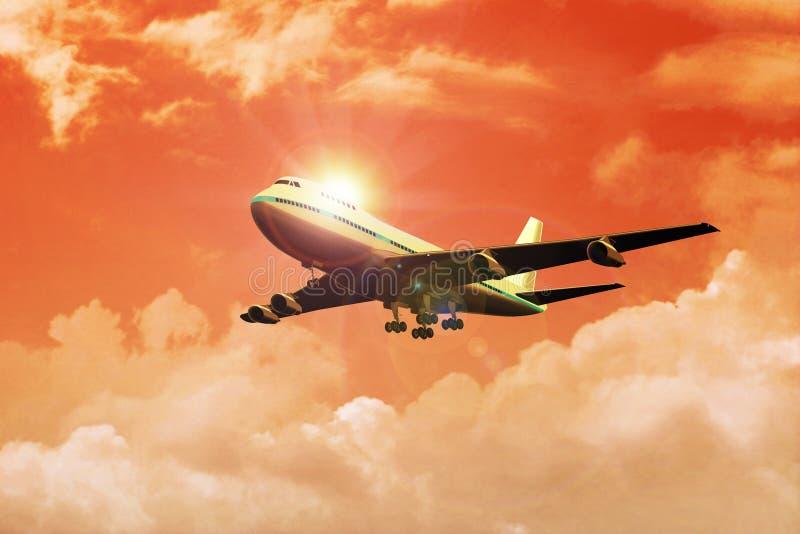 Airplane royalty free stock photo