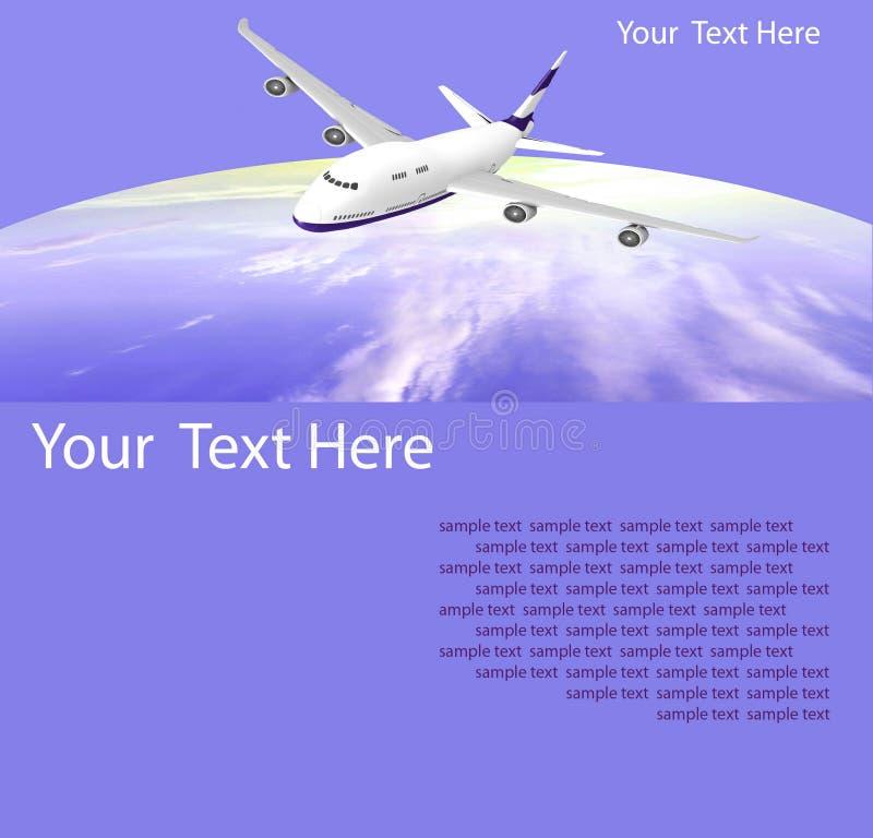 Download Airplane stock illustration. Image of flip, takeoff, background - 17764255