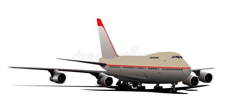 Download Airplane stock vector. Illustration of travel, flight - 20016563