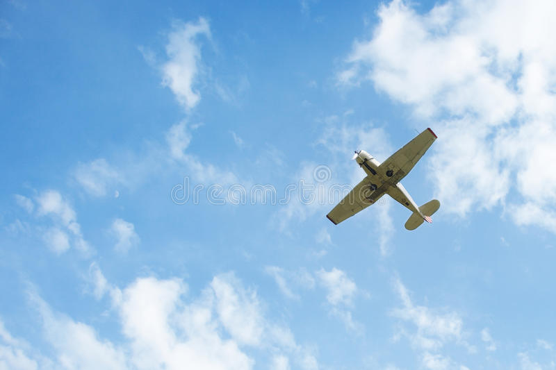 Download Airplane stock image. Image of close, nobody, cloudy - 23247429