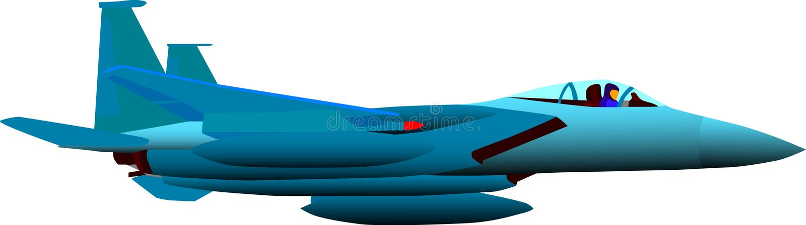 Download Airplane stock illustration. Image of plane, airport, navy - 7063133