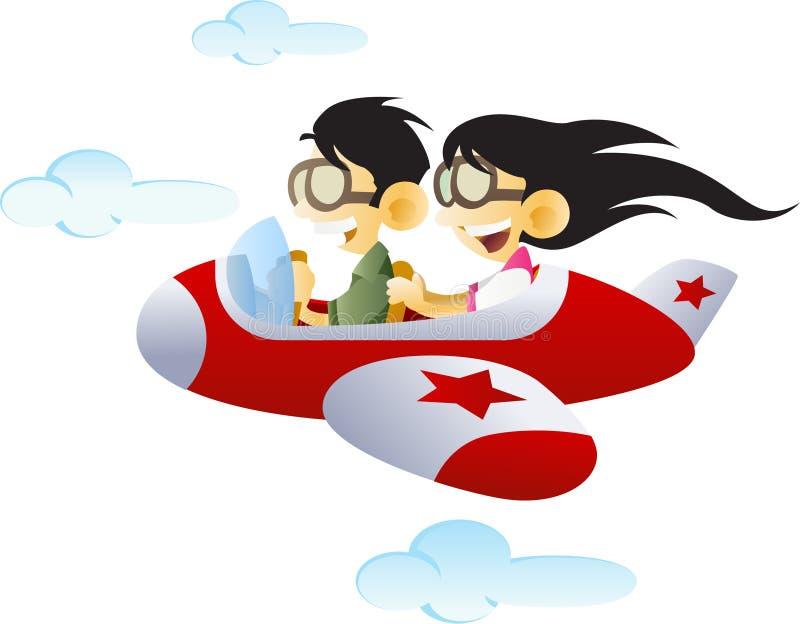 Airplane vector illustration