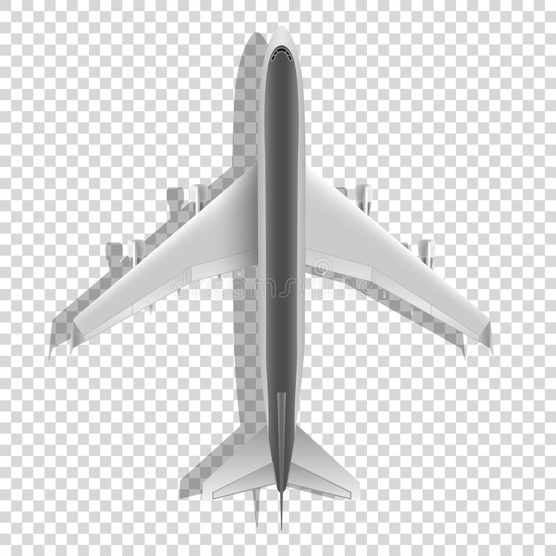 Download Airplane Above Icons Passenger Plane On Transparent Background Vector Stock