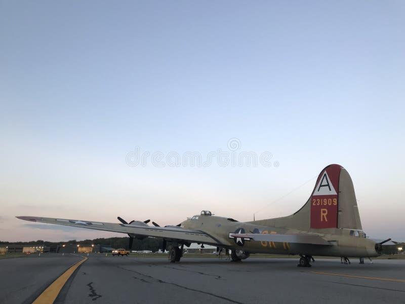 Airplane, Aircraft, Propeller Driven Aircraft, Flight royalty free stock photography