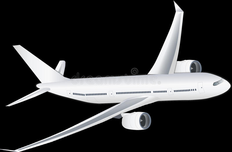 Airplane, Airliner, Airline, Aircraft royalty free stock images