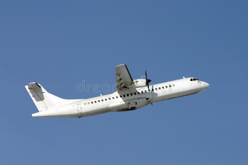 Airplane ATR-72 stock photos