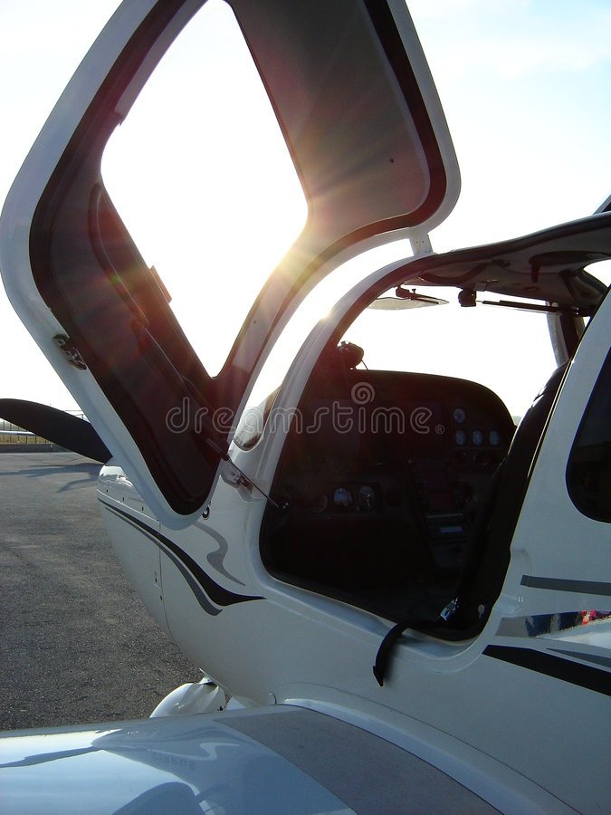Download Airplane cockpit stock photo. Image of flying, cockpit - 462598