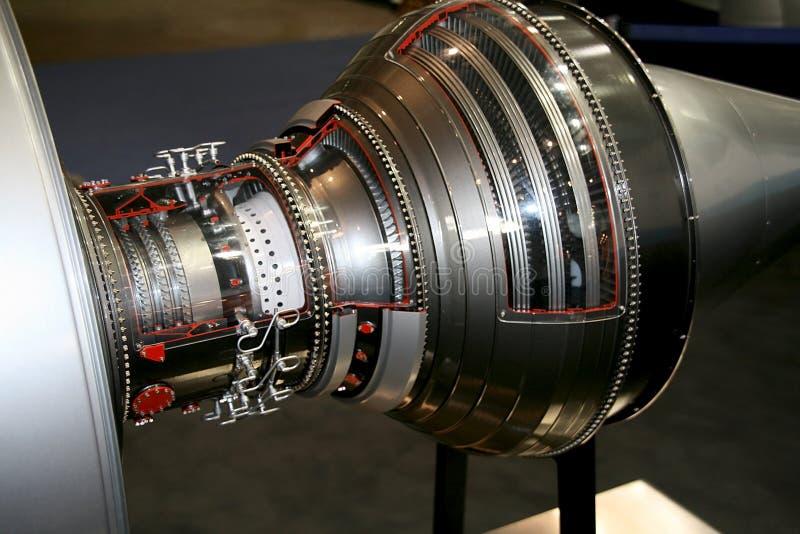 airplane engine fotografering för bildbyråer