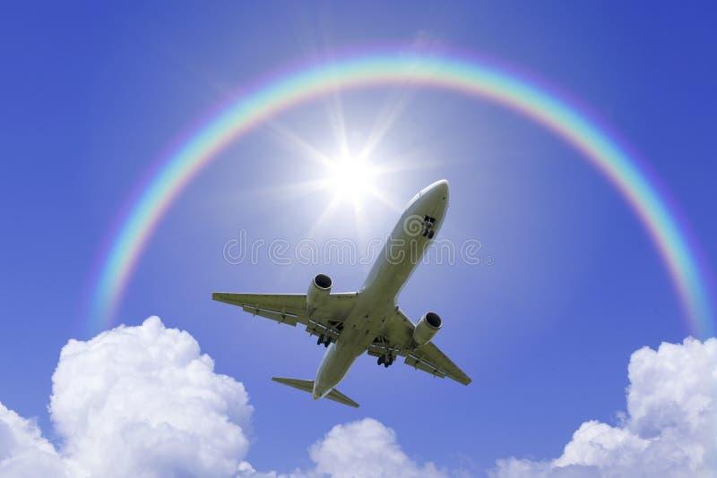Regenbogen Aus Flugzeug