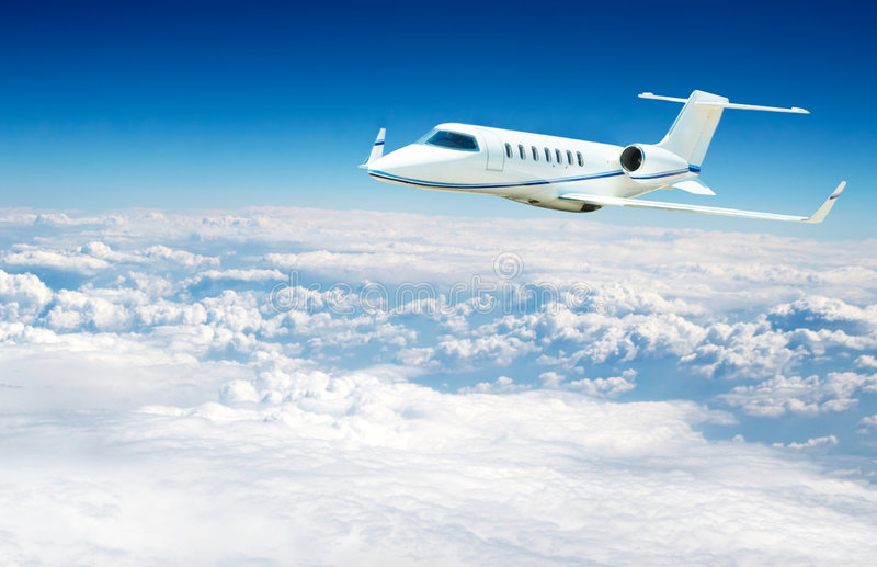 Airplane Flying Stock Photos