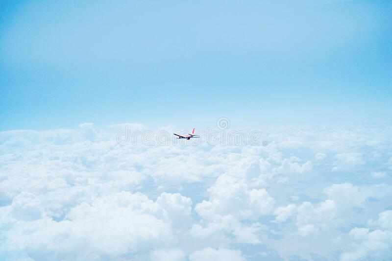 Airplane Flying Above Clouds Free Public Domain Cc0 Image