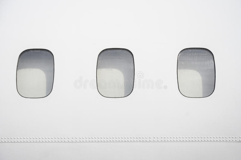 Airplane fuselage stock images