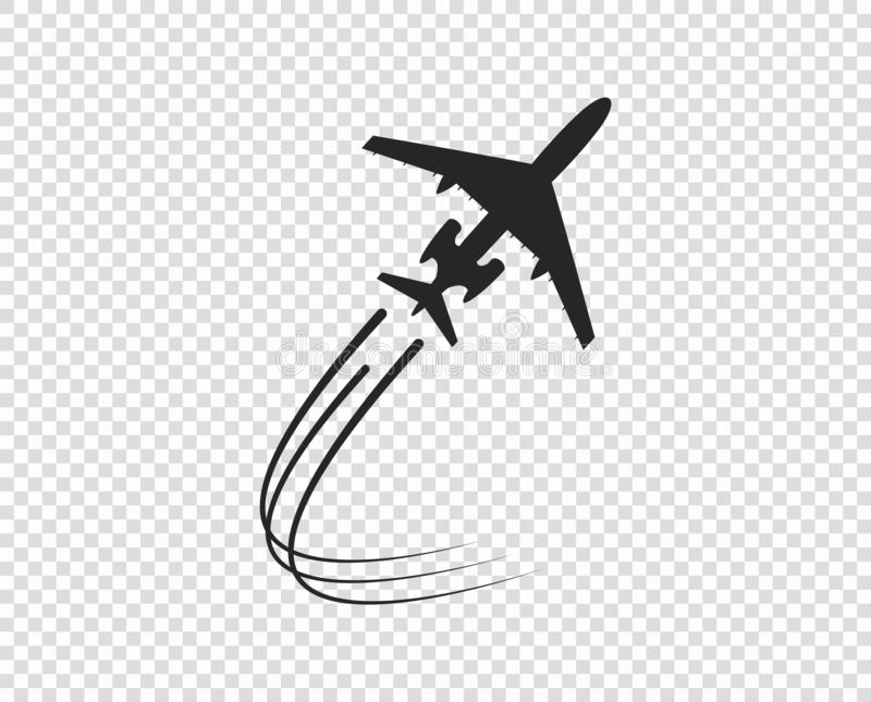 Plane Trail Stock Illustrations 2 091 Plane Trail Stock