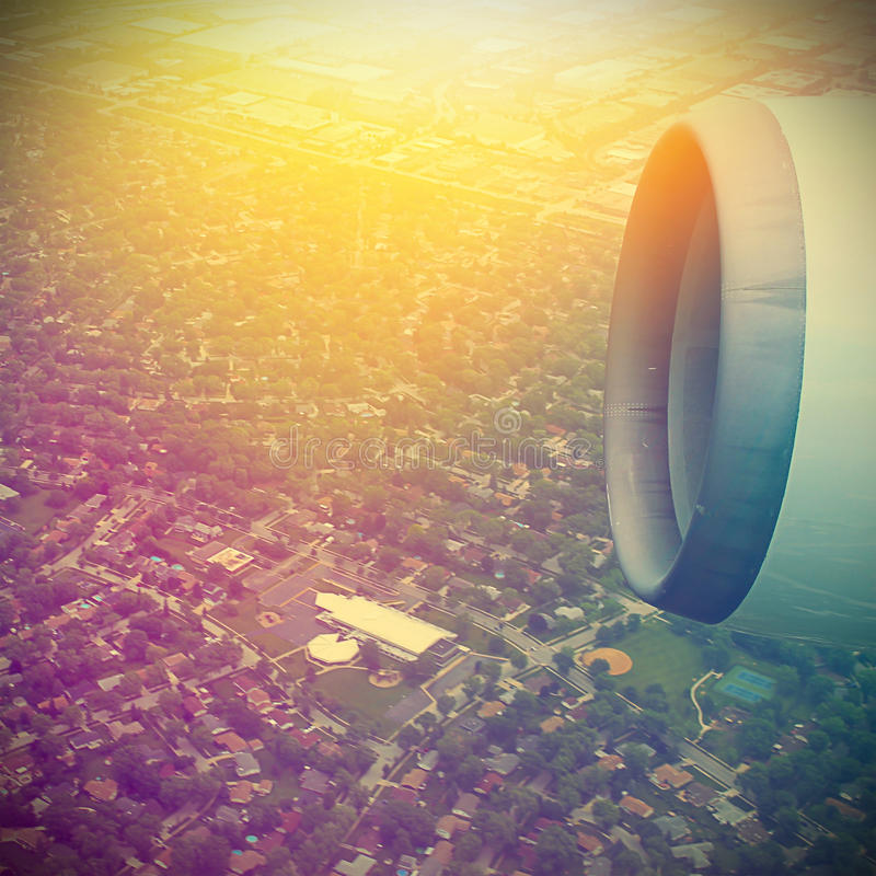 Free Airplane In The Sky Royalty Free Stock Photo - 44669635