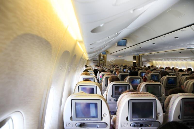 Download Airplane Interior Royalty Free Stock Photo - Image: 19413365