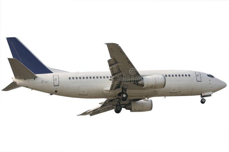 Download Airplane isolated stock image. Image of vehicle, transportation - 13373265