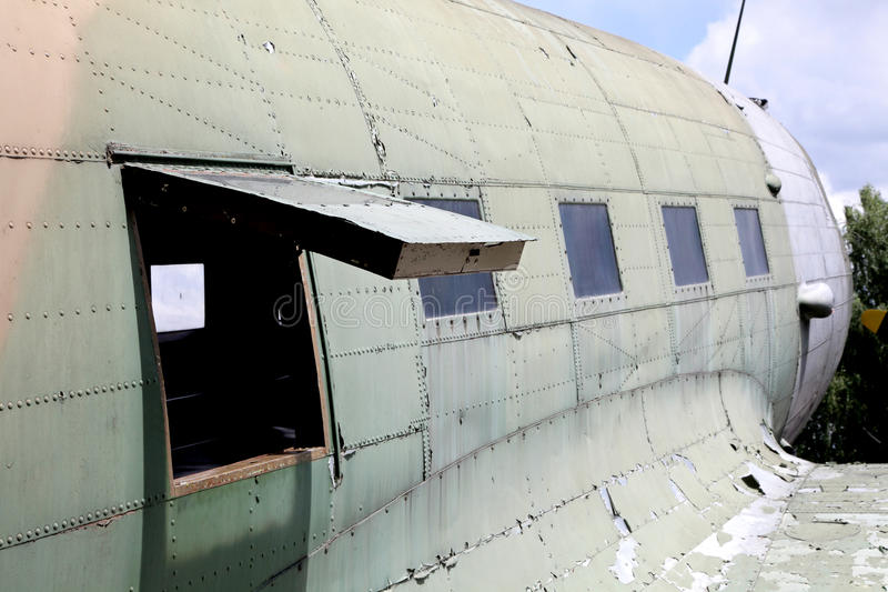 Airplane Li-2 stock photography