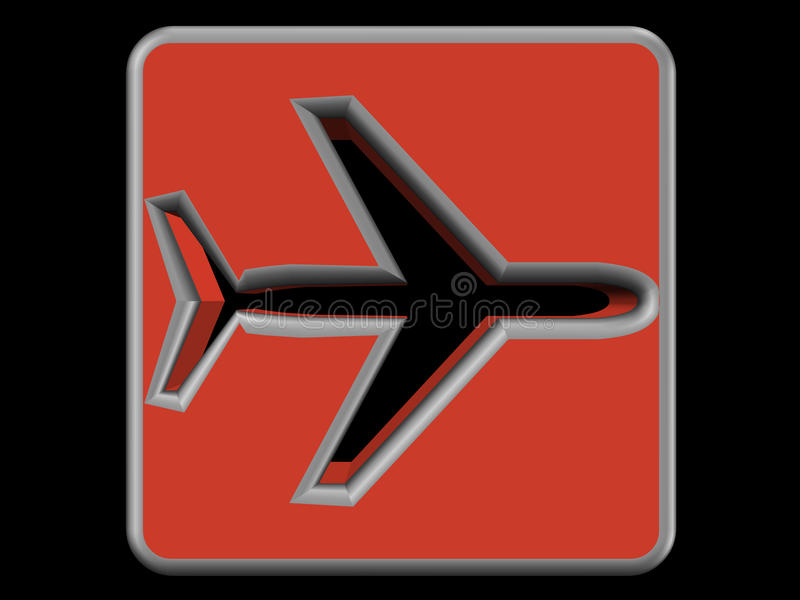 Download Airplane Logo Royalty Free Stock Photos - Image: 12870958