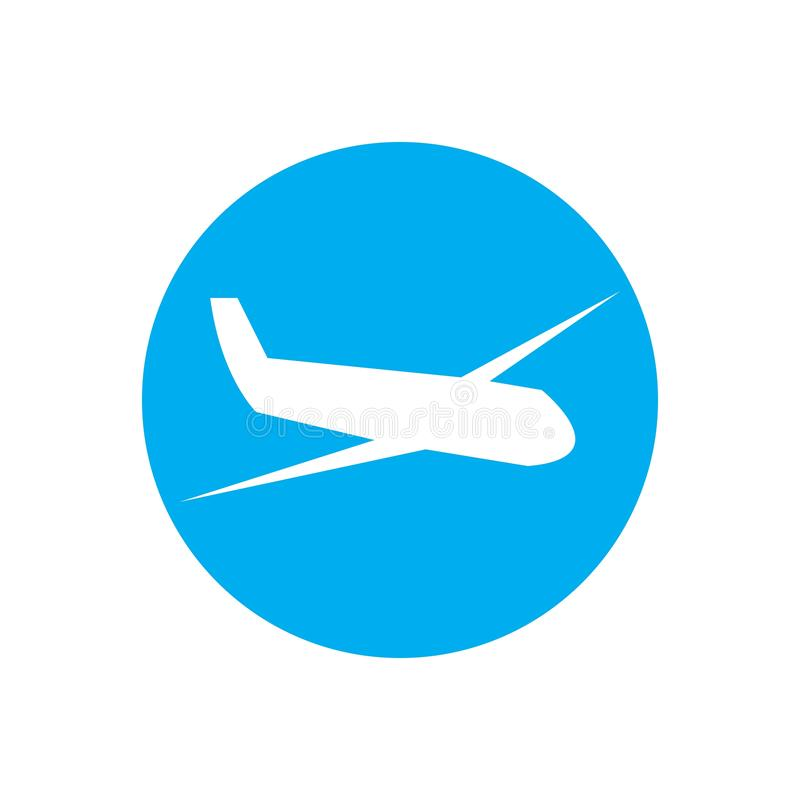 Airplane logo Template vector illustration icon design. Plane Icon Vector, landing, abstract, clean, journey, pilot, modern, turbine, aeroplane, simple, trip vector illustration