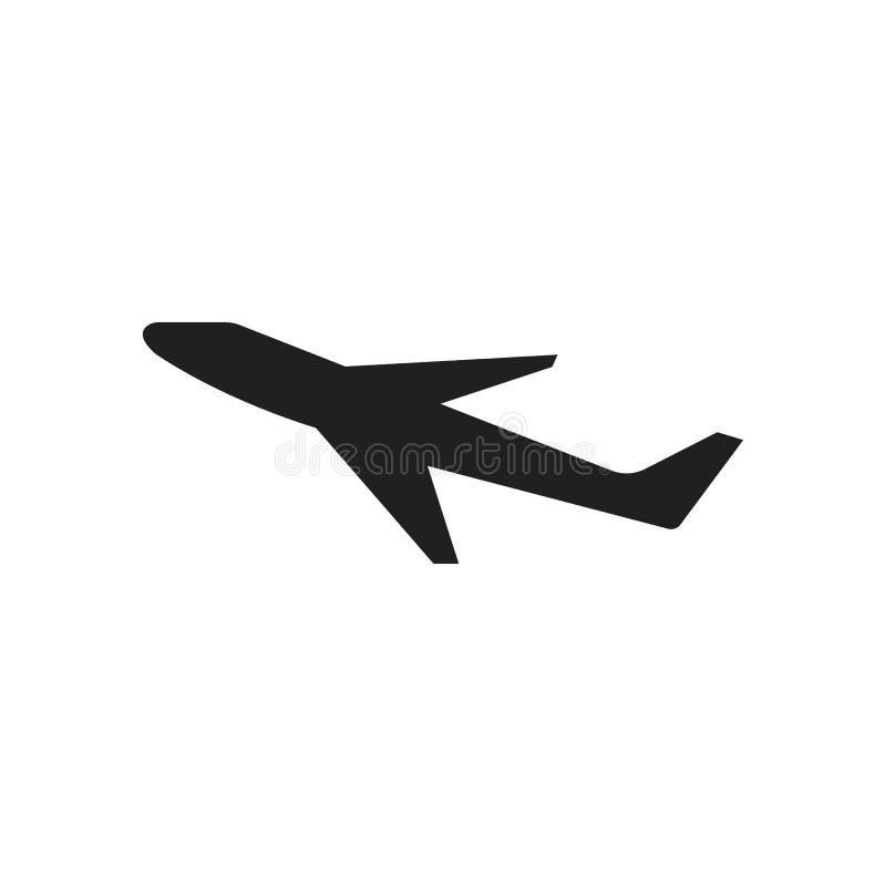 Airplane logo Template vector illustration icon design stock illustration