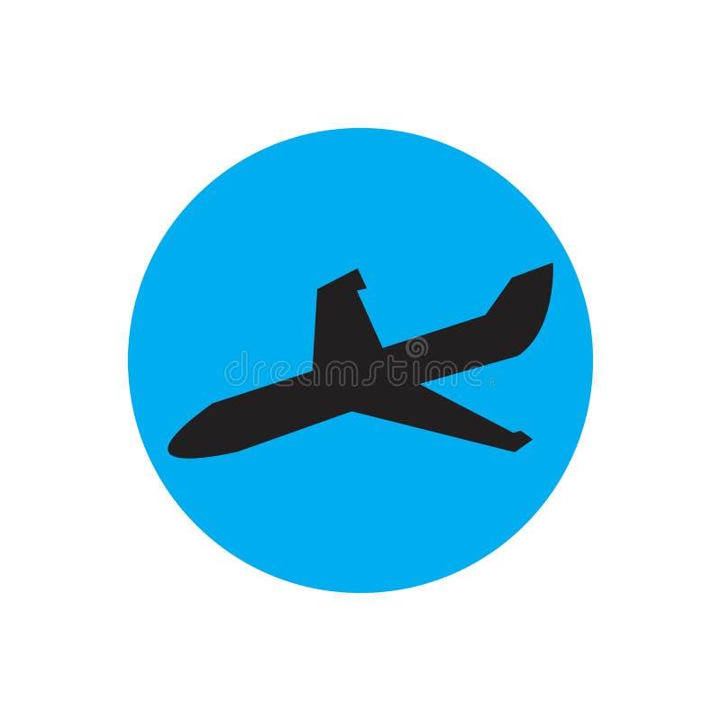 Airplane logo Template vector illustration icon design. Plane Icon Vector, landing, abstract, clean, journey, pilot, modern, turbine, aeroplane, simple, trip vector illustration