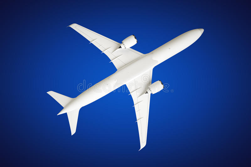 Download Airplane stock photo. Image of commercial, white, speed - 33243402