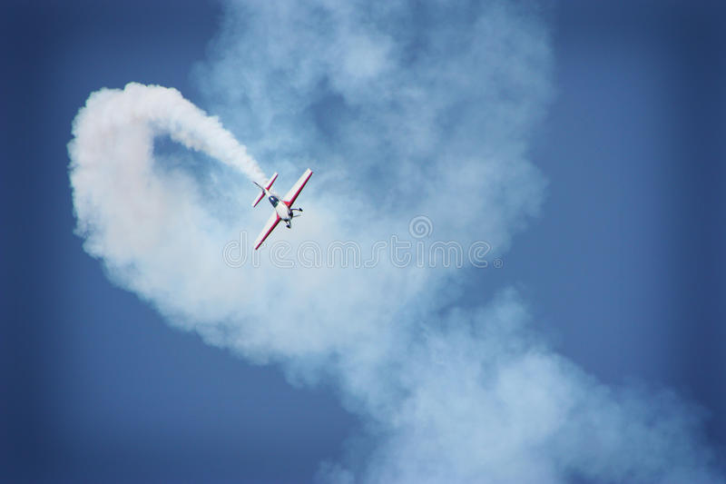 Download Airplane Performing During Airshow Stock Image - Image: 15880091