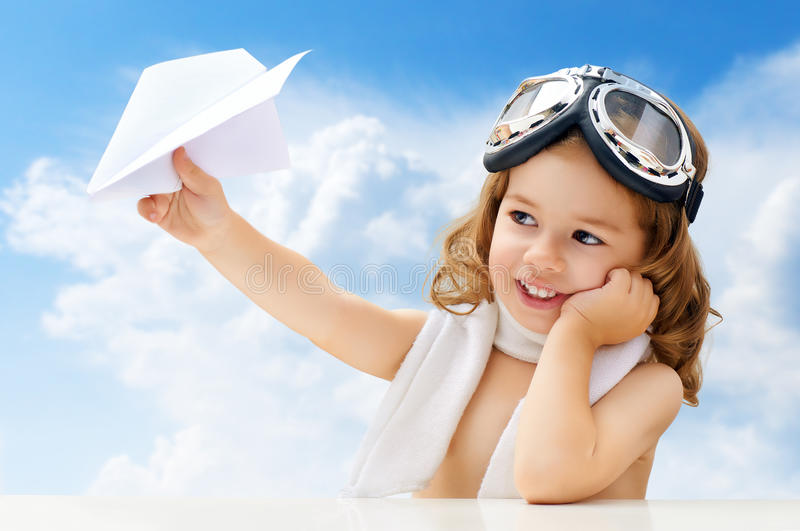 Download Airplane pilot stock image. Image of idea, lifestyle - 33432419