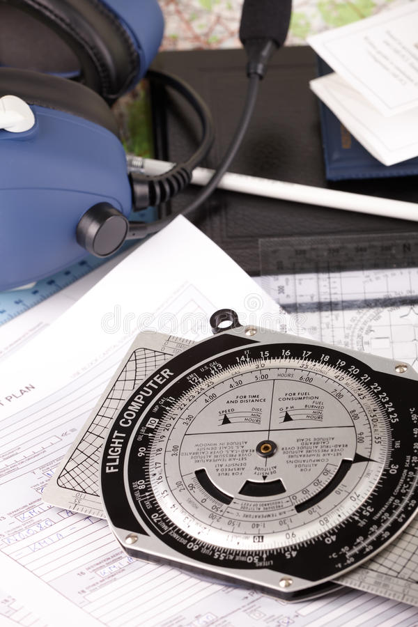 Download Airplane pilot equipment stock photo. Image of aviation - 13235736