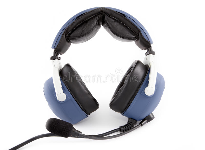Airplane pilot headset