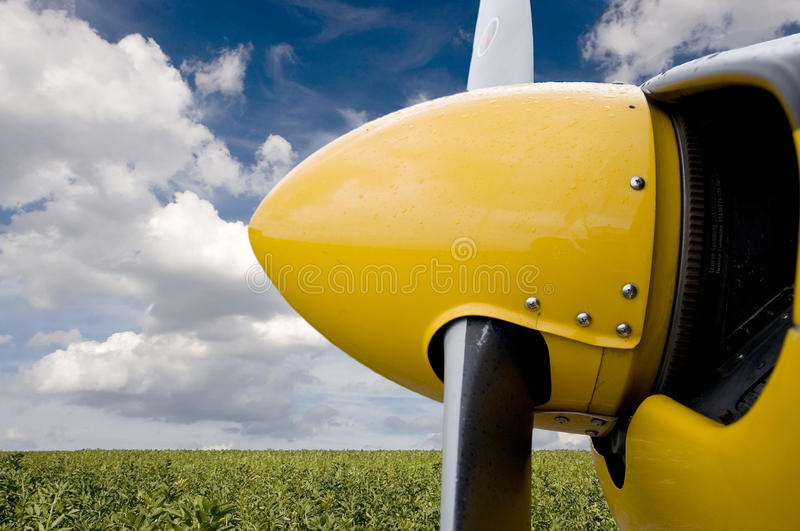 Download Airplane Propeller Stock Photos - Image: 21494113