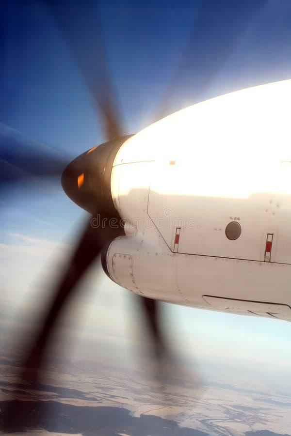 Download Airplane Propeller In Midair Stock Image - Image of propeller, aeroplane: 4036573