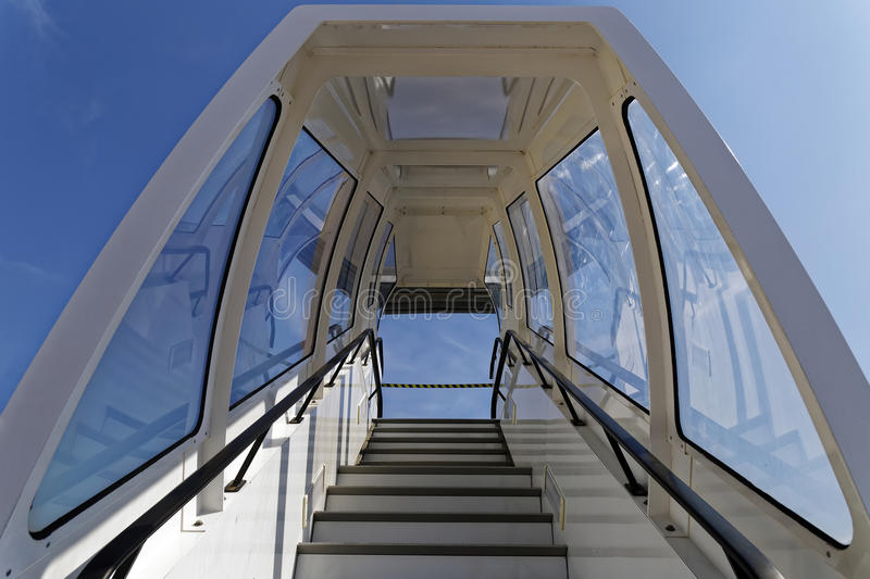 Download Airplane Stairs Stock Photo. Image Of Outdoor, Plane   90679266