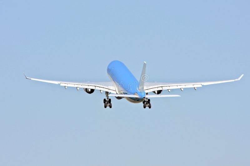 Airplane Take Off Royalty Free Stock Images