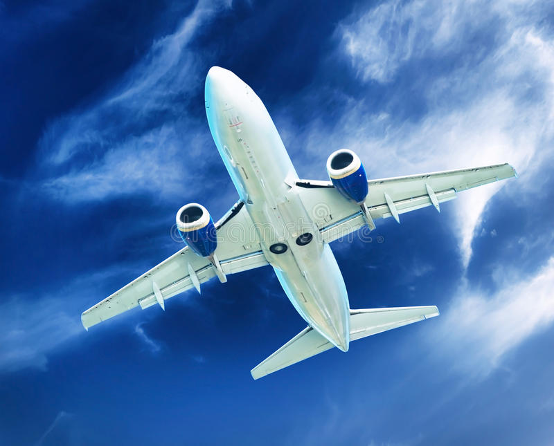 Download Airplane Transportation. Jet Air Plane Stock Photo - Image of concept, flight: 35213420