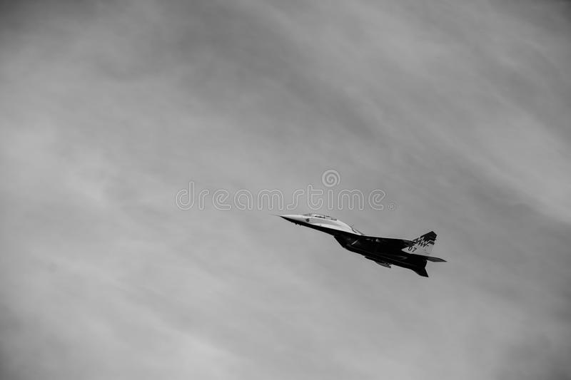 Airplane for war royalty free stock photography