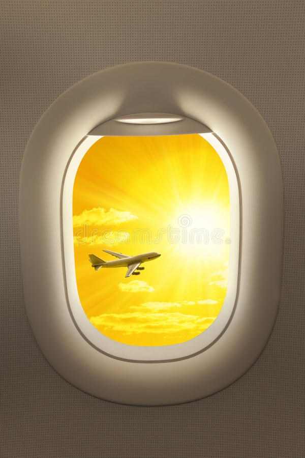Download Airplane Window Travel Sky Background Stock Image - Image: 39764621