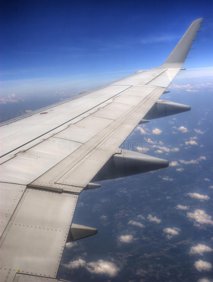 Download Airplane Wing stock image. Image of nobody, plane, commercial - 10814889