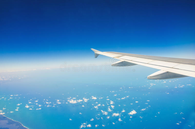 Download Airplane wing stock photo. Image of atmosphere, aeroplane - 27172382