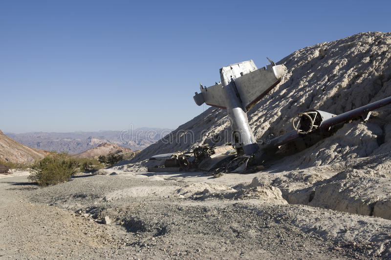 Download Airplane Wreckage stock image. Image of tail, debris - 10476605