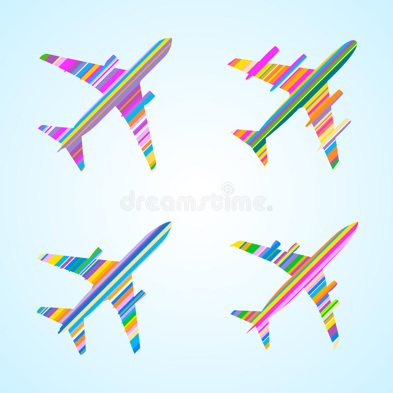 Download Airplanes stock vector. Image of plane, airplane, aviation - 23829001