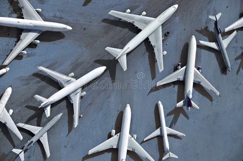 Airplanes Stock Image