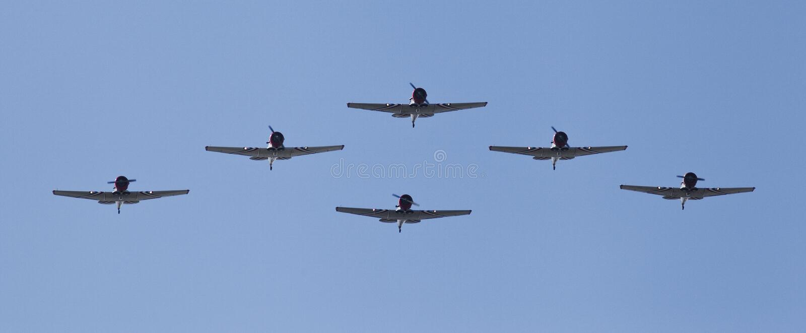 Download Airplanes in formation stock photo. Image of airshow - 22701494