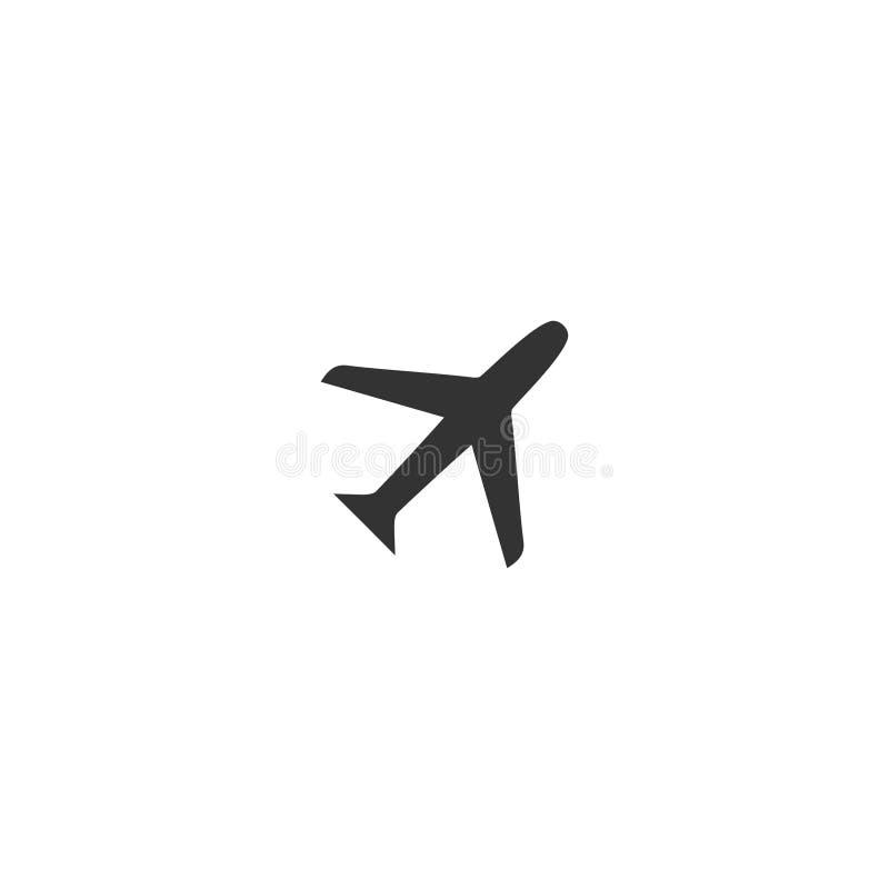 Airplanes icon flat vector illustration