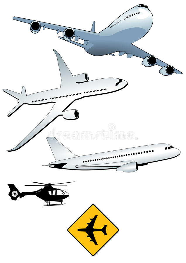 Download Airplanes sand helicopters stock vector. Image of army - 18540051