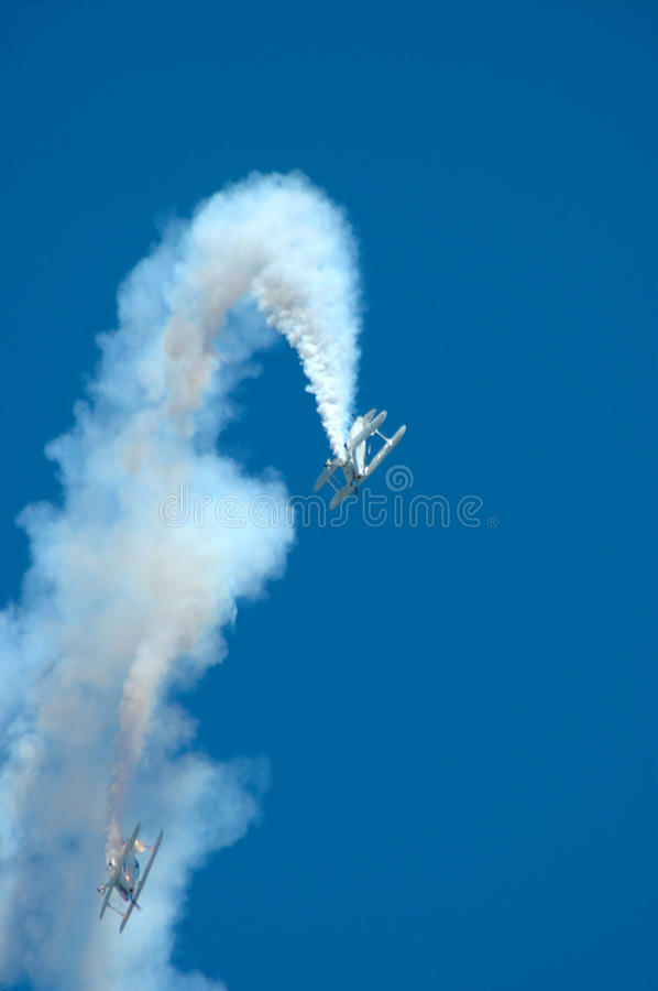 Download Airplanes in trouble stock image. Image of trouble, vertical - 26618721