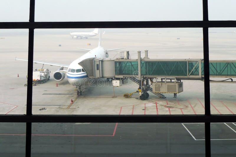 airpoart Πεκίνο στοκ εικόνα
