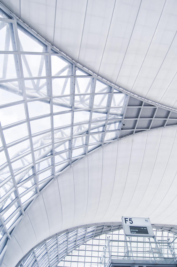 Download Airport architecture stock photo. Image of airplane, plain - 16347134