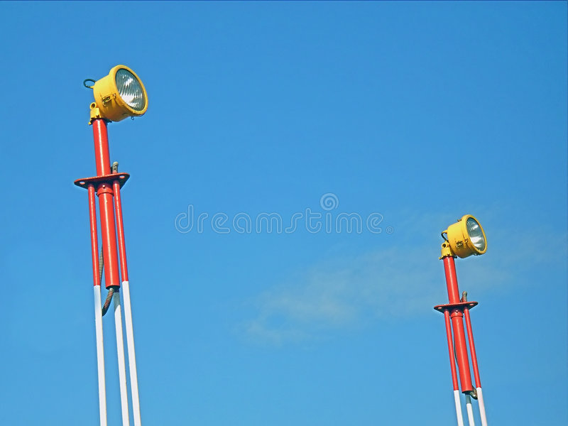 Download Airport Beacons 3 Royalty Free Stock Photo - Image: 4417495