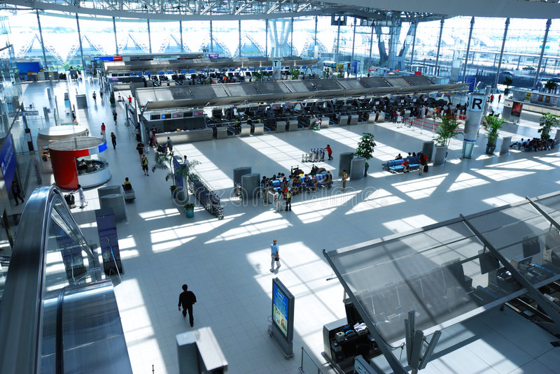 Download Airport check-in stock photo. Image of thailand, urban - 6505902